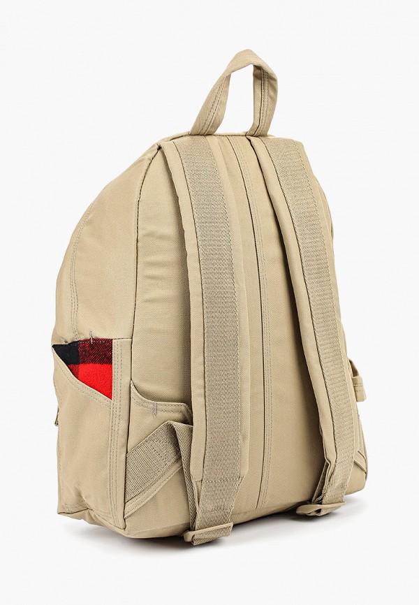 Фото 2 - мужской рюкзак Eastpak бежевого цвета