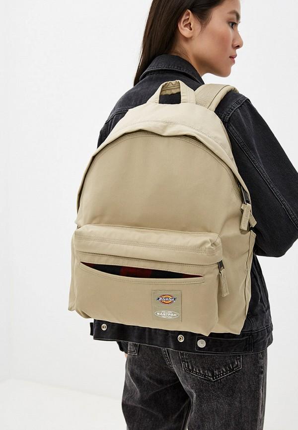 Фото 4 - мужской рюкзак Eastpak бежевого цвета