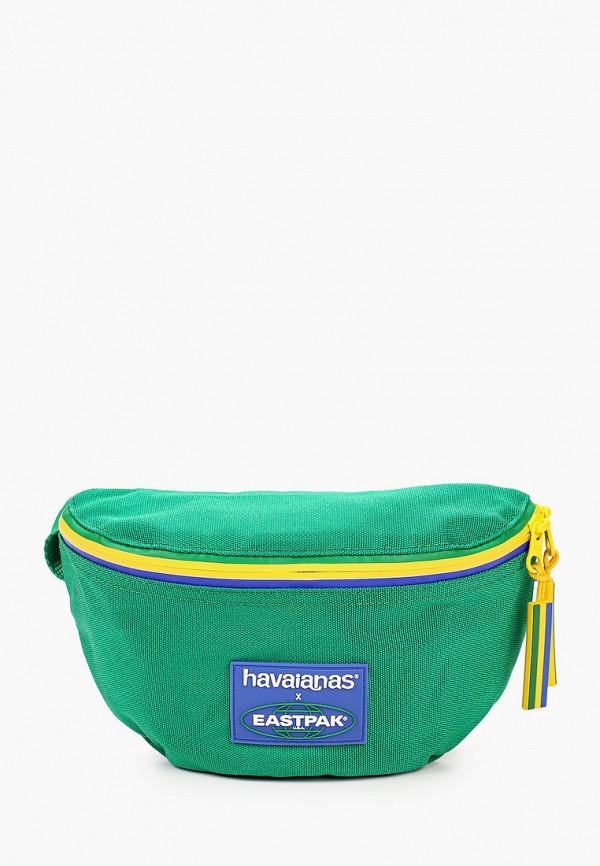 женская сумка eastpak, зеленая