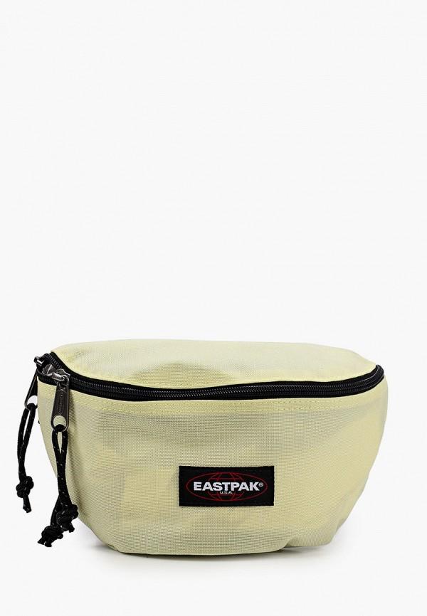 женская сумка eastpak, желтая