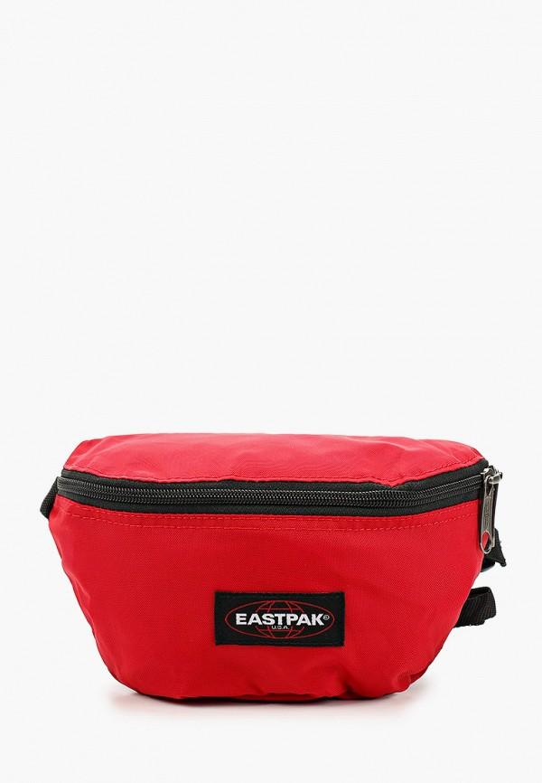 женская сумка eastpak, красная