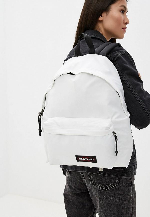Фото 4 - женский рюкзак Eastpak белого цвета