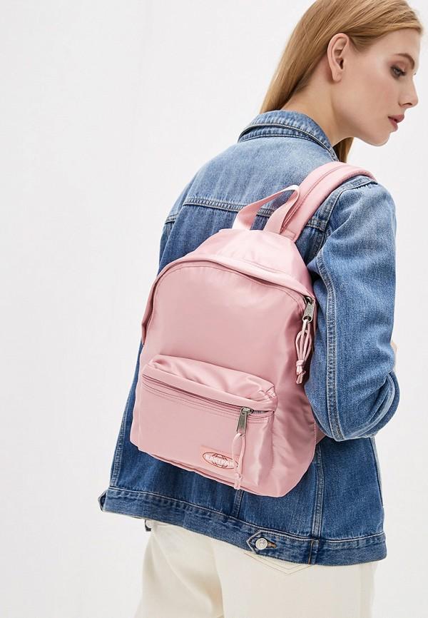 Фото 8 - женский рюкзак Eastpak розового цвета