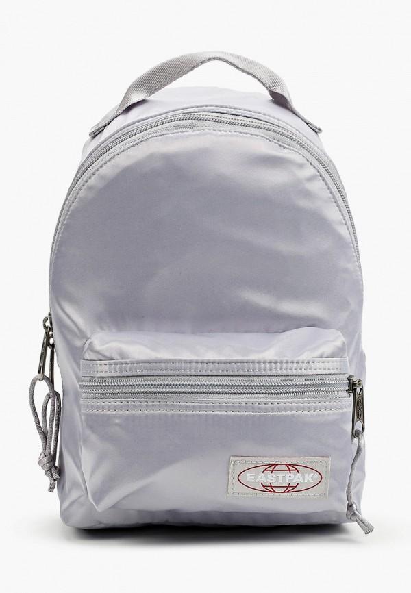 женский рюкзак eastpak, серебряный