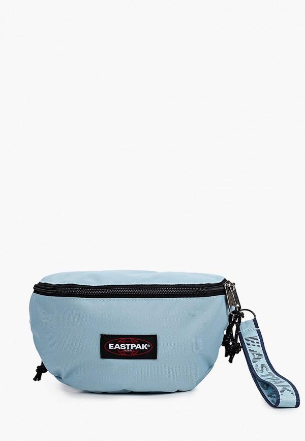 женская сумка eastpak, голубая