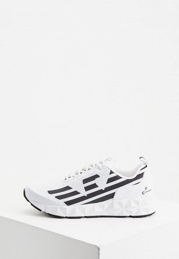 женские кроссовки ea7, белые