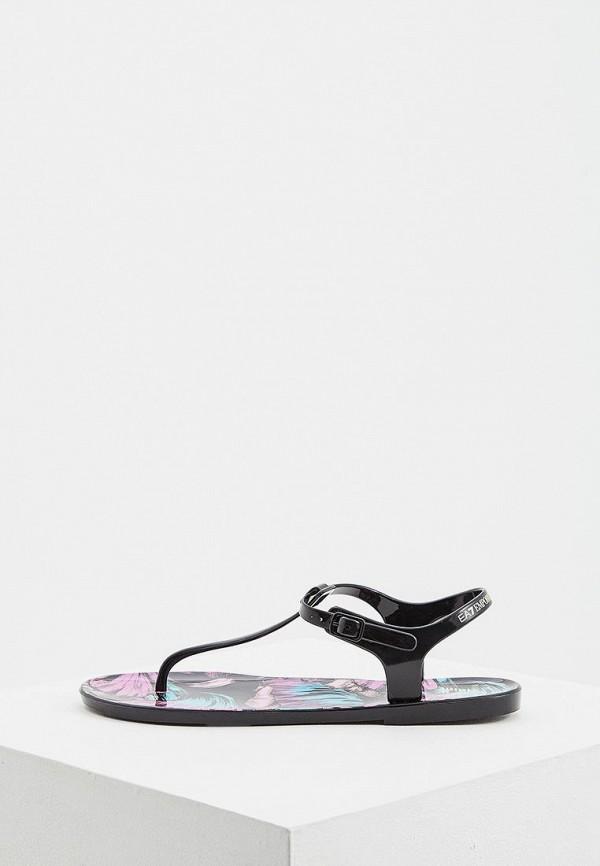 Купить Резиновая обувь, Сандалии EA7, ea002awdqyf9, черный, Весна-лето 2019