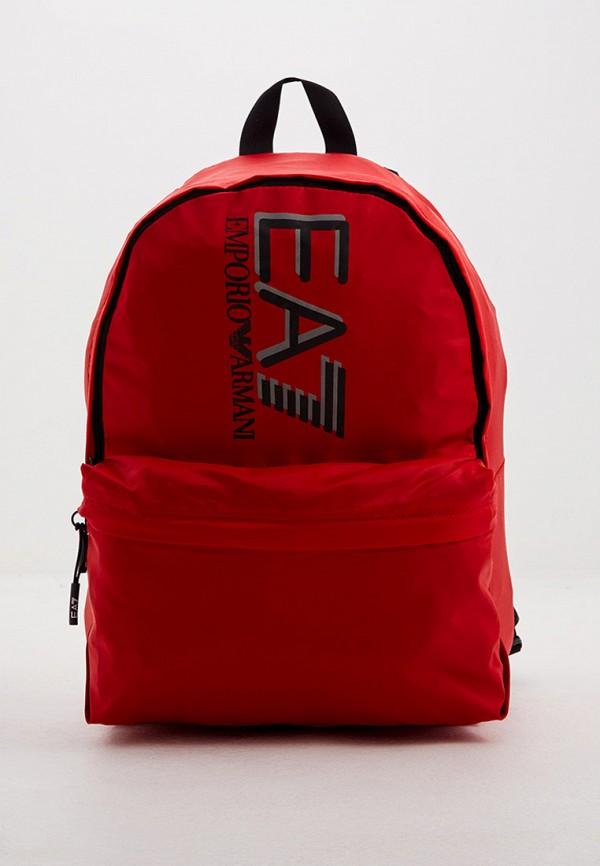 мужской рюкзак ea7, красный