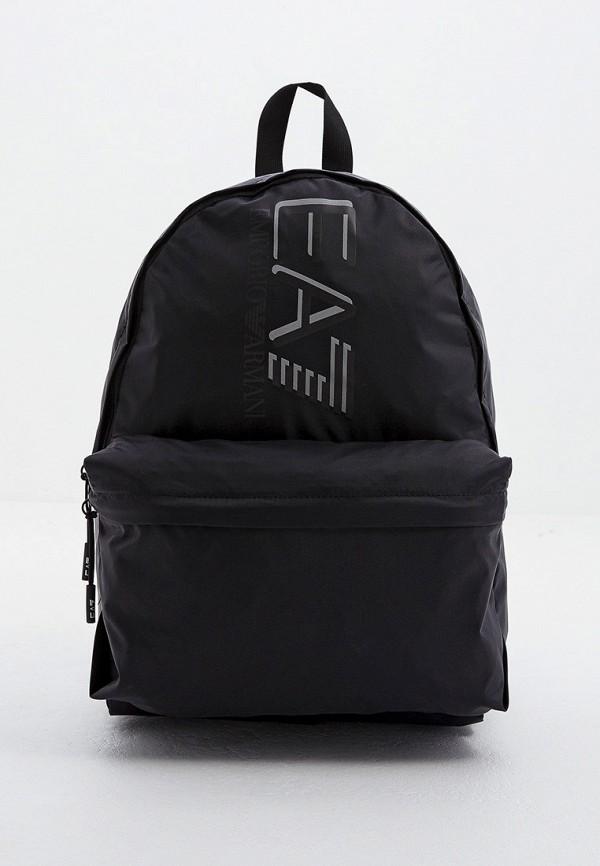 мужской рюкзак ea7, черный