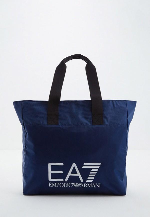 женская сумка ea7, синяя