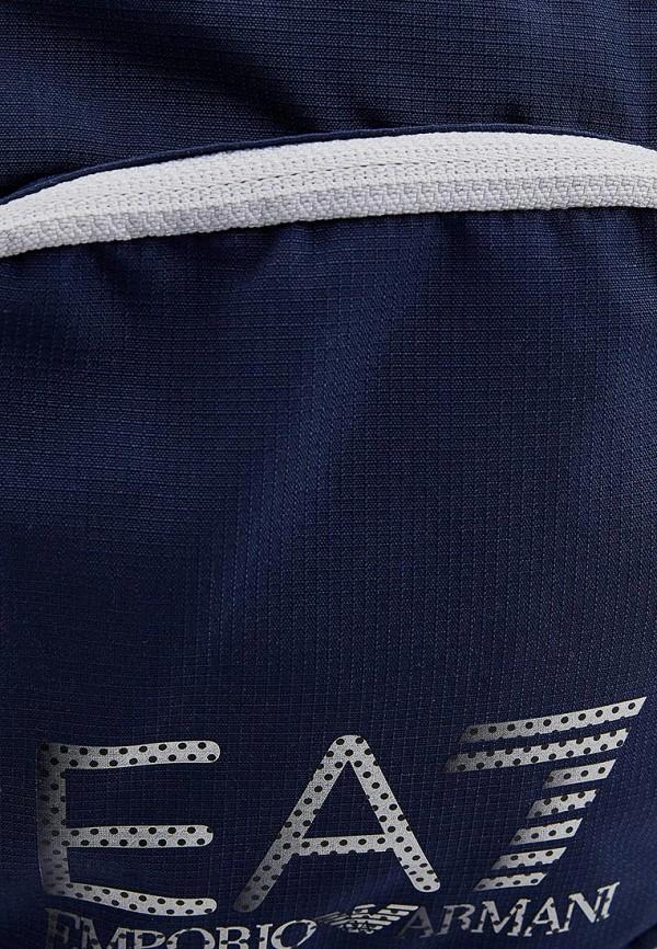 Фото 7 - женскую сумку EA7 синего цвета