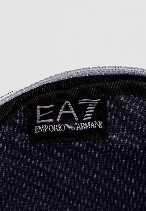 Фото 8 - женскую сумку EA7 синего цвета