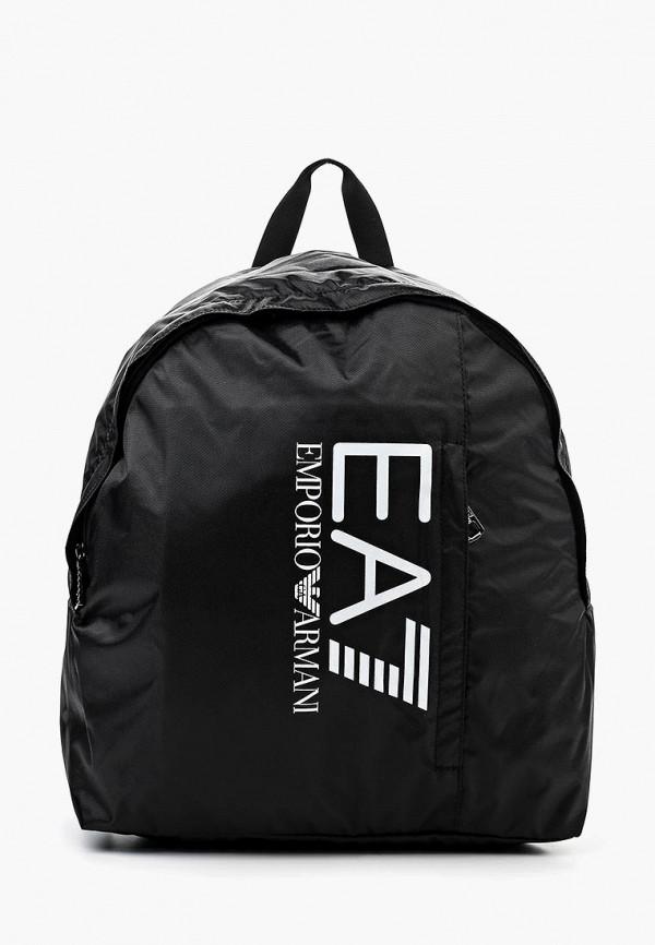 женский рюкзак ea7, черный