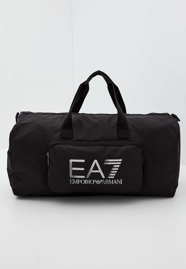 мужская сумка ea7, черная