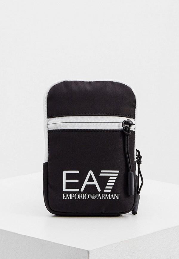 женская сумка ea7, черная