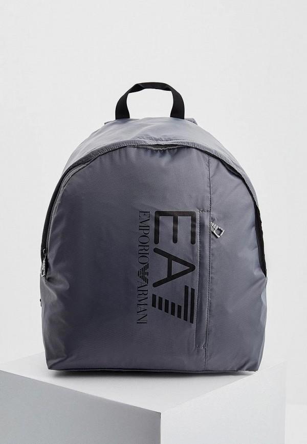 мужской рюкзак ea7, серый