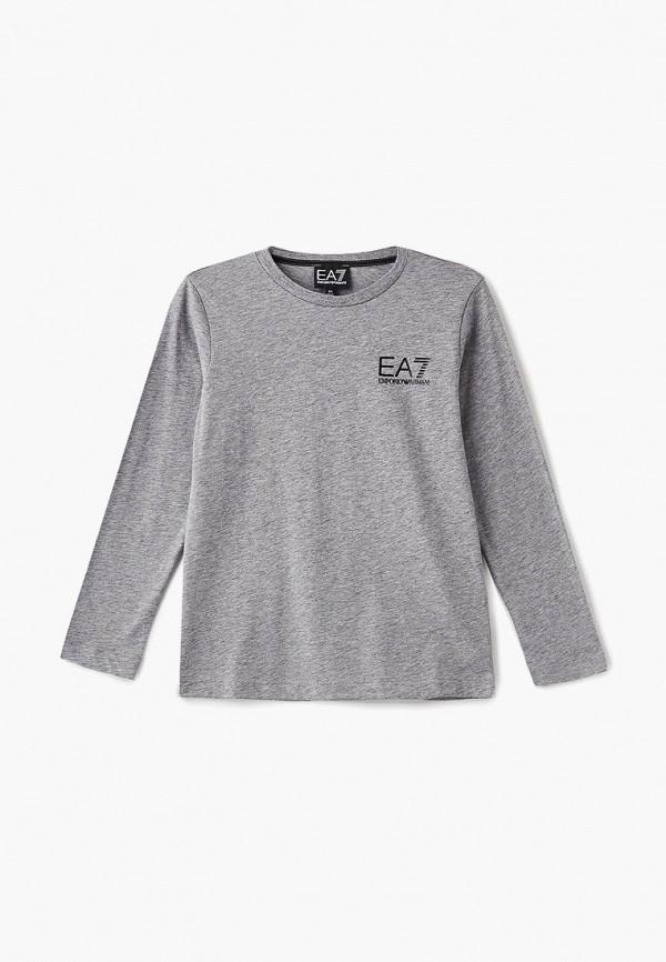 Купить Лонгслив EA7, ea002ebbnwq2, серый, Осень-зима 2018/2019
