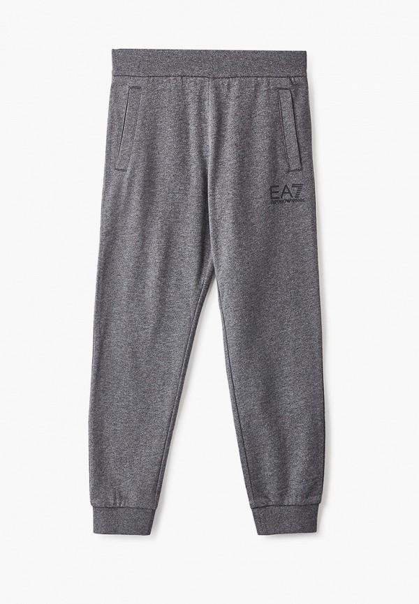 спортивные спортивные брюки ea7 для мальчика, серые