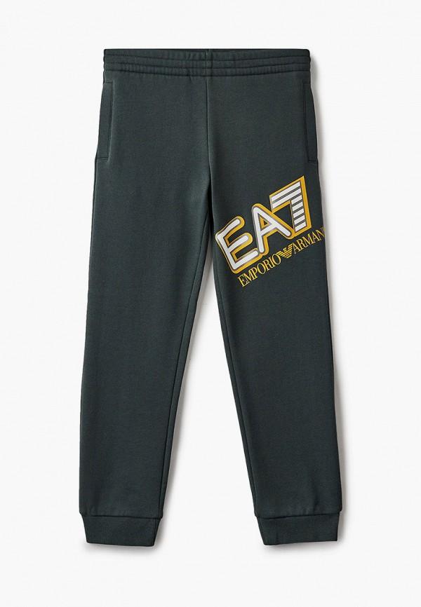 брюки ea7 для мальчика, хаки