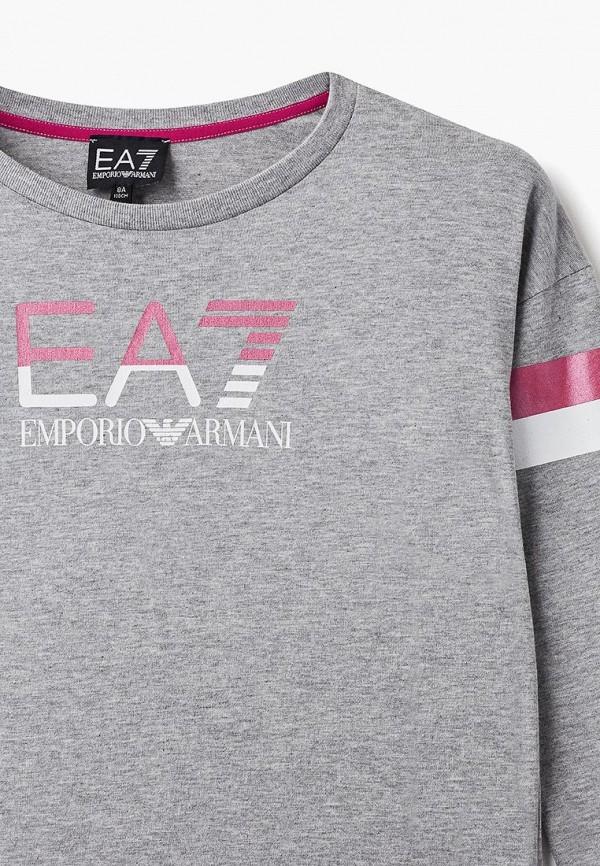 Лонгслив для девочки EA7 6ZFT52 FJQ9Z Фото 3