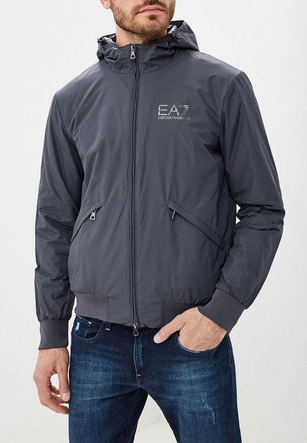 Купить Куртка утепленная EA7, ea002embnzi3, серый, Осень-зима 2018/2019