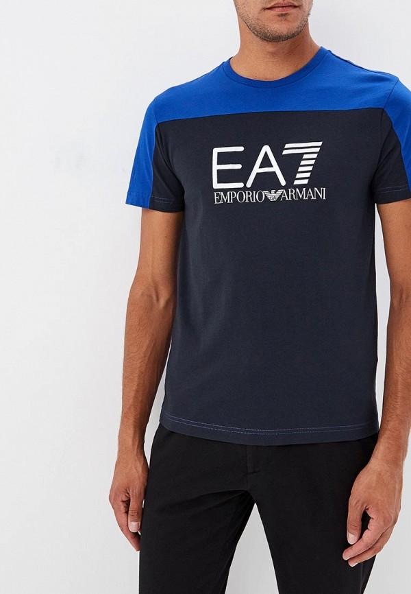Футболка EA7 EA7 EA002EMBOAK2 футболка ea7 ea7 ea002emboak2