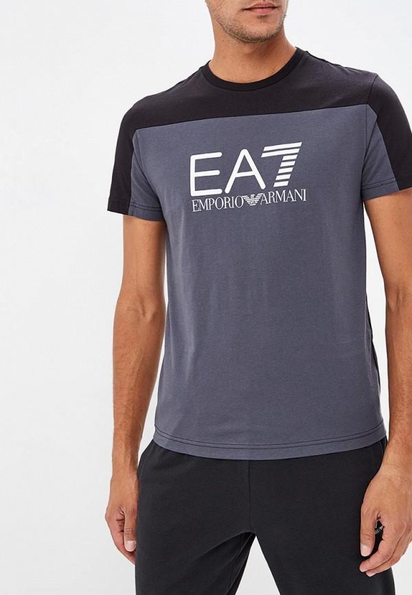 Футболка EA7 EA7 EA002EMBOAK3 футболка ea7 ea7 ea002ewbody0
