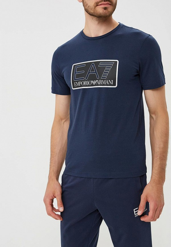 Футболка EA7 EA7 EA002EMBOAO0 футболка мужская fine 219 1325 ax ck ea7 aj