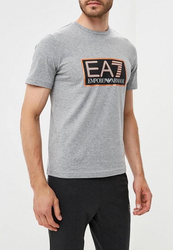 Футболка EA7 EA7 EA002EMBOAO1 футболка ea7 ea7 ea002emuei37