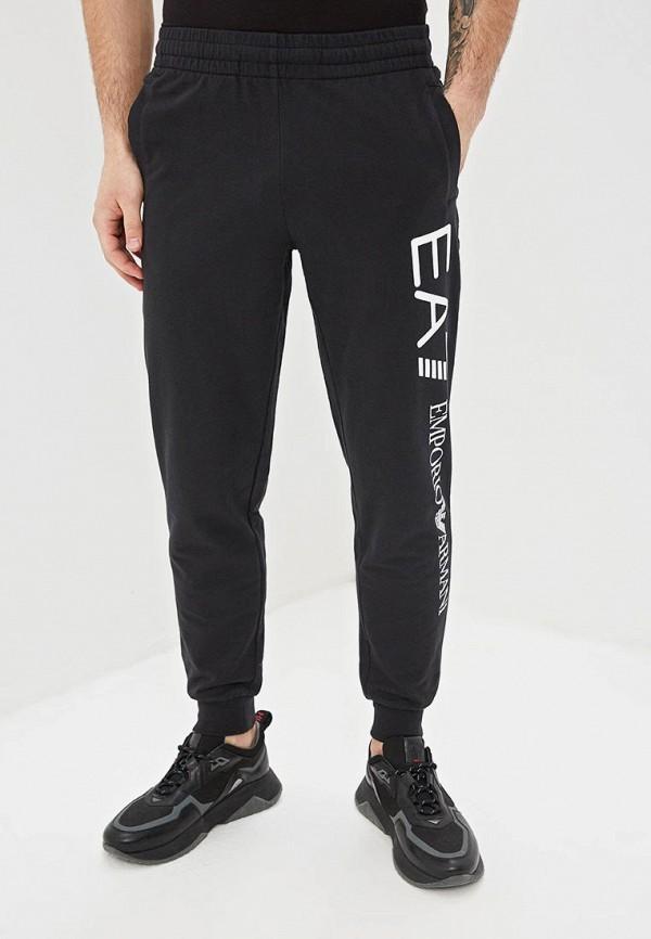 мужские спортивные спортивные брюки ea7, черные