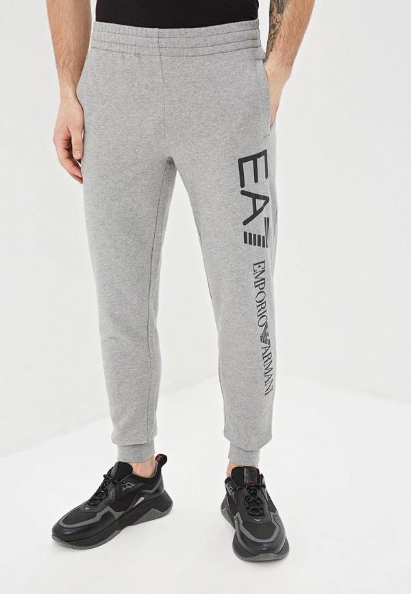 мужские спортивные спортивные брюки ea7, серые