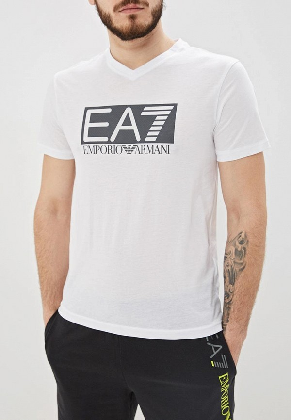 Футболка EA7 EA7 EA002EMDQXM0 пуховик ea7 ea7 ea002emuee50