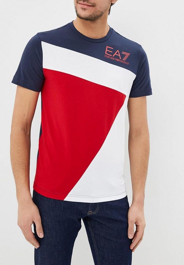 Футболка EA7 EA7 EA002EMDQXM6 футболка ea7 ea7 ea002emuei37