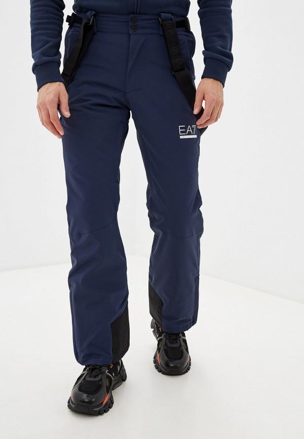 мужские брюки ea7, синие