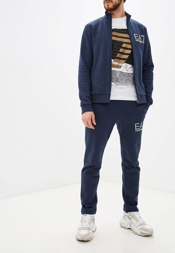 мужской спортивный костюм ea7, синий