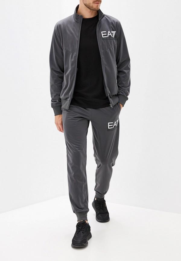 мужской спортивные спортивный костюм ea7, серый