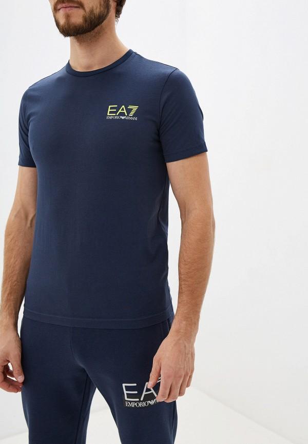 Футболка EA7 EA7 EA002EMFXFN8 футболка ea7 ea7 ea002emboam3