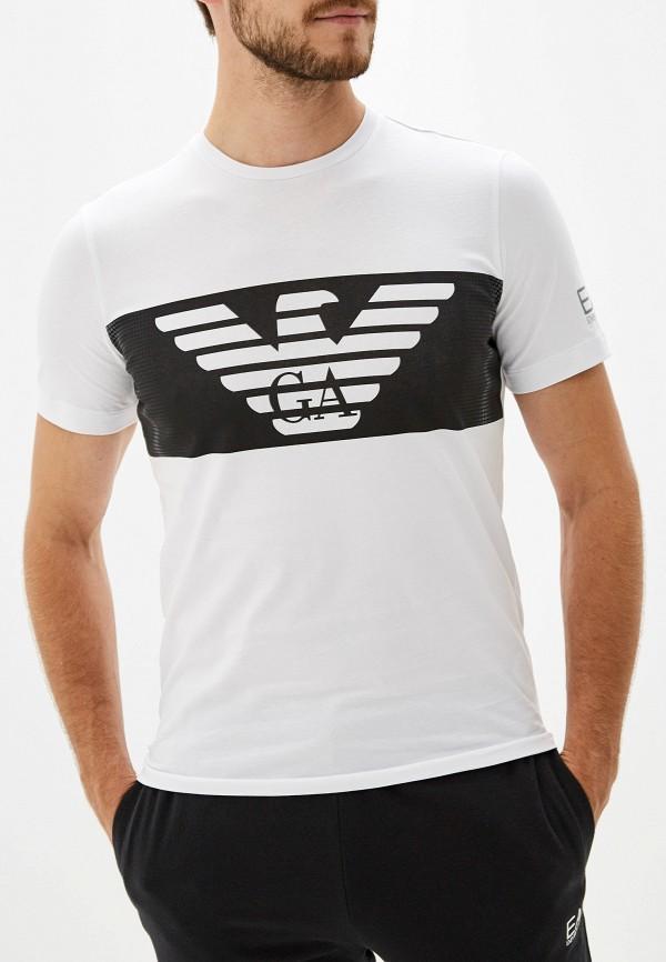 Футболка EA7 EA7 EA002EMFXFQ2 футболка ea7 ea7 ea002emboam3