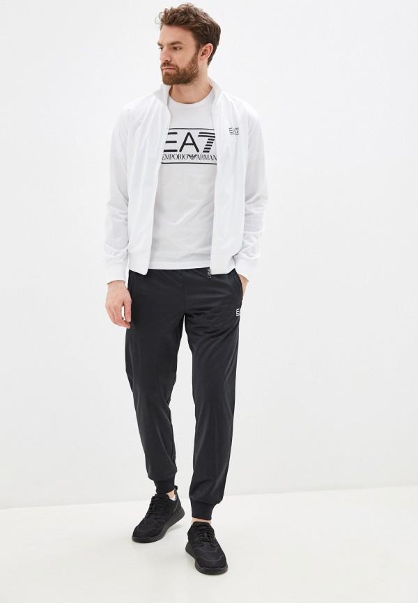 мужской спортивный костюм ea7, белый