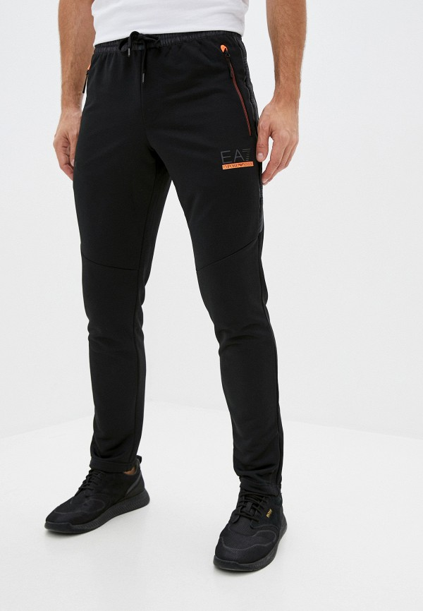 мужские спортивные брюки ea7, черные