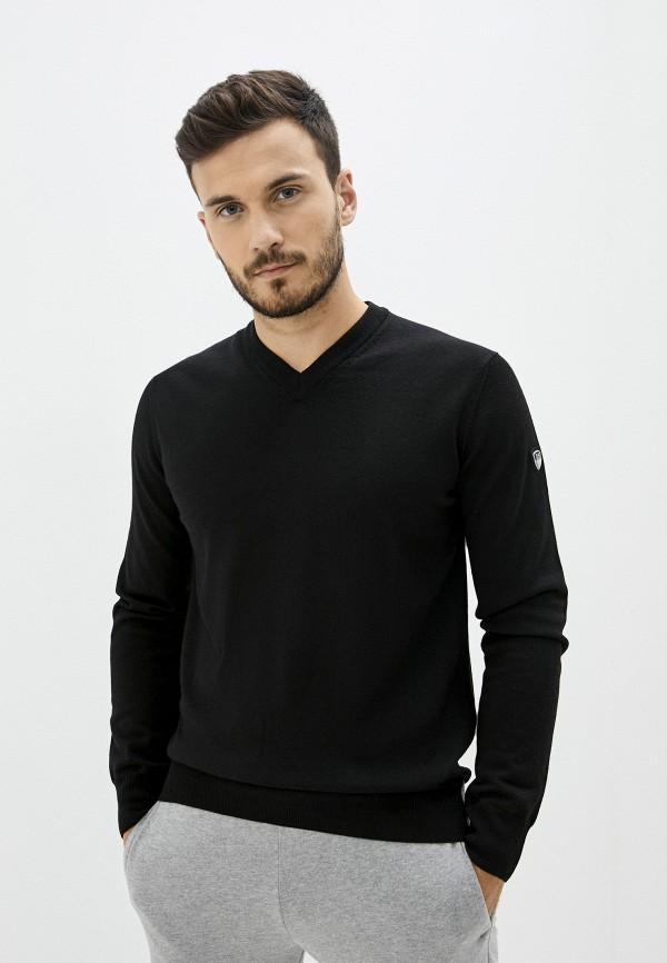 мужской пуловер ea7, черный