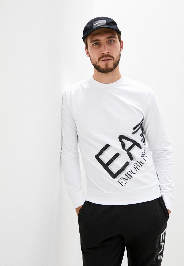 мужской свитшот ea7, белый