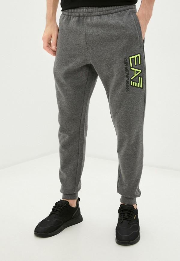 мужские спортивные брюки ea7, серые