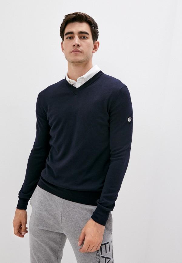 мужской пуловер ea7, синий