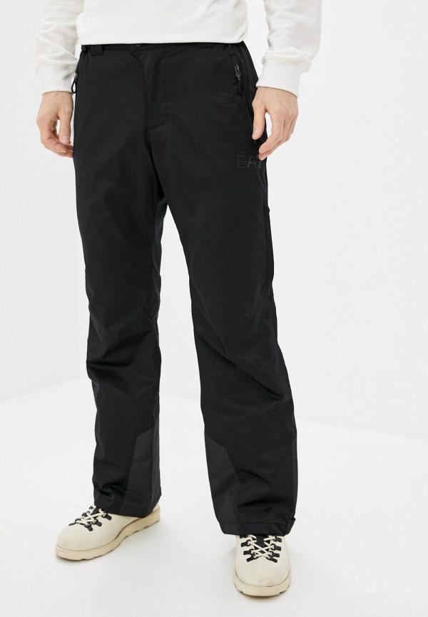 мужские брюки ea7, черные