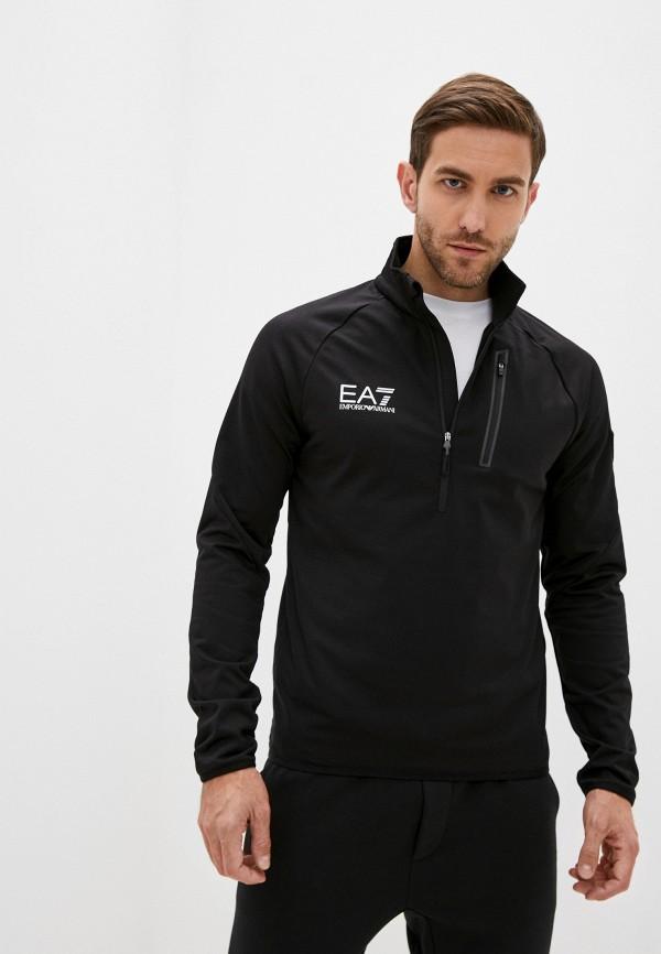 мужская олимпийка ea7, черная