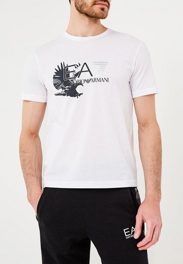 Футболка EA7 EA7 EA002EMZUG54 футболка ea7 ea7 ea002ebzub03