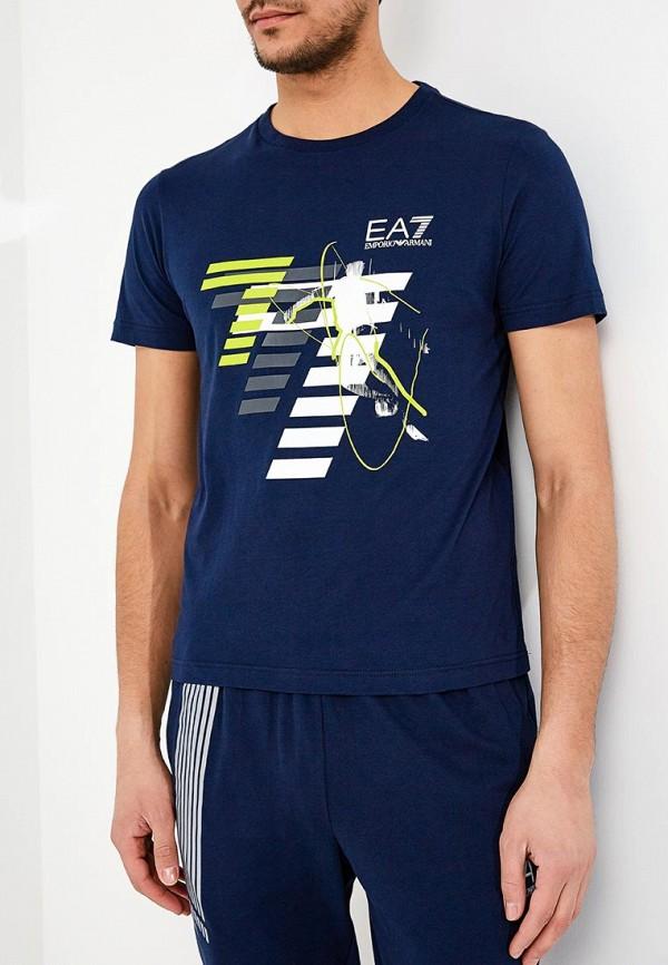 Футболка EA7 EA7 EA002EMZUG58 футболка ea7 3ztt73 tje2z 1100