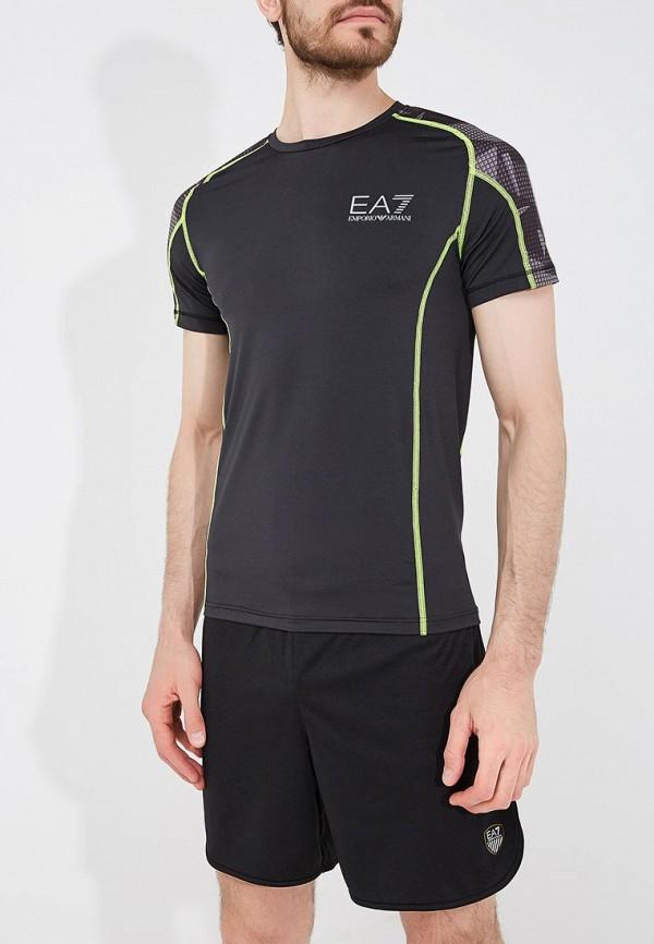 Футболка спортивная EA7 EA7 EA002EMZUG63 футболка ea7 ea7 ea002ebzub03
