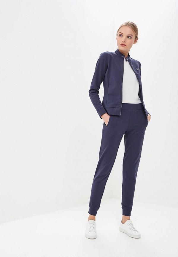 женский спортивные спортивный костюм ea7, синий